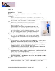 Hondensportacademie Circle Doggydance